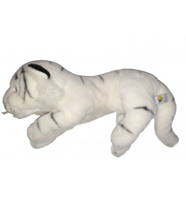 Grande peluche Tigre blanc 45 cm LASCAR