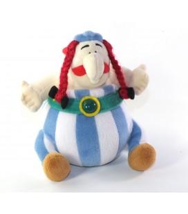 Peluche doudou OBELIX 20 cm Asterix Nounours 2005 Uderzo Goscinny