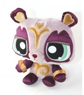 Peluche doudou Panda violet 20 cm Littlest Petshop Hasbro 2009
