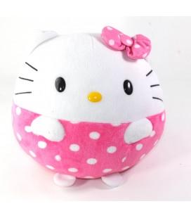 Peluche doudou HELLO KITTY Boule Sanrio TY 22 cm