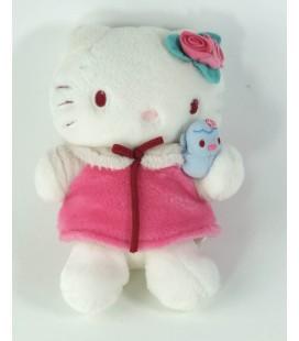 Peluche doudou Hello Kitty Robe Oiseau 22 cm Sanrio