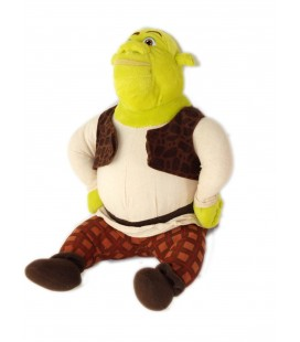 Peluche doudou Shrek the Third Gioshi Preziosi Dreamworks assis 28 cm