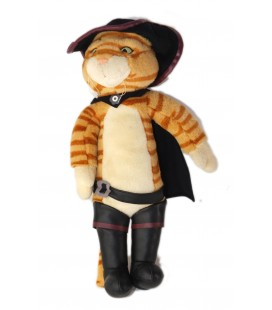 Peluche Le chat Potte Le chat Botte 42 cm Dreamworks