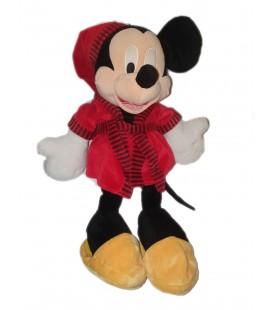 Grande peluche Mickey Peignoir Robe de chambre rouge 60 cm Disney Nicotoy