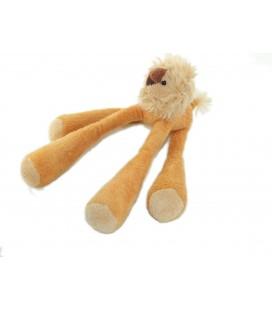 Doudou Lion orange beige 22 cm CMP Longues pattes