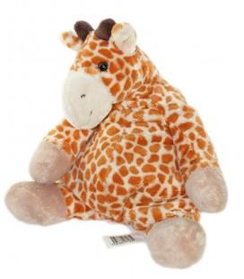 Doudou Peluche Girafe marron blanc beige CMP 32 cm