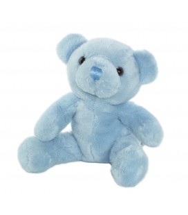 Doudou Ours bleu 20 cm CMP