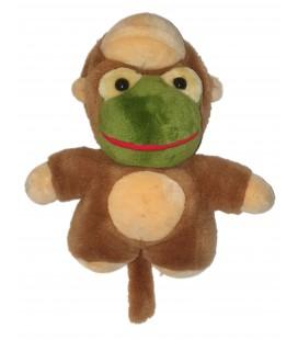 Peluche grenouille deguisee en singe Opera Import 32 cm