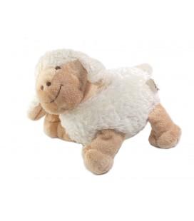 Doudou Mouton blanc beige 18 cm CIAD