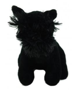 PLAYKIDS Doudou Peluche chien noir 18 cm
