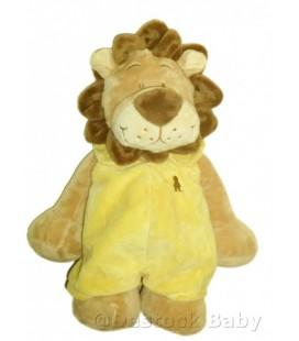 Doudou LION jaune Baboum NOUKIE'S Noukies Gd Mod. 38 cm