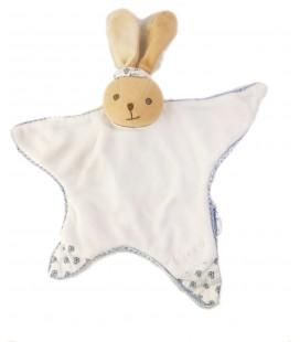 KALOO Doudou plat lapin blanc bleu
