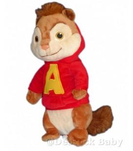 Doudou peluche ALVIN et les Chippmunks Gipsy 28 cm