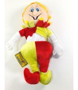 Peluche doudou Clown Parc Bagetelle 26 cm