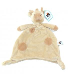 Doudou plat Girafe beige JELLYCAT
