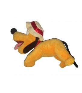 Doudou Peluche Pluto Chapeau 25 cm Disney Disneyland