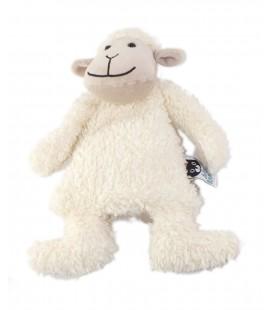 Doudou Peluche semi plat Mouton blanc beige Jelly Kitten Jellycat