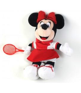 Peluche doudou Minnie Tennis 26 cm Vintage Disneyland Disney