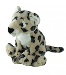 Peluche doudou Leopard The Petting Zoo 26 cm
