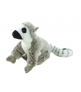 Doudou peluche Lemurien Nature Planet 15 cm