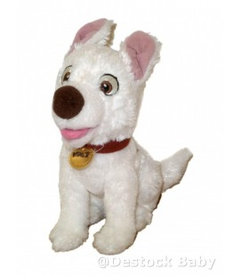 Doudou peluche VOLT Chien Authentique Disneyland Paris H 23 cm