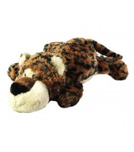 Peluche Tigre marron noir blanc 38 cm PEEKO