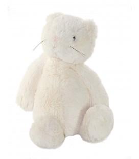 Doudou Peluche chat blanc Jellycat 30 cm