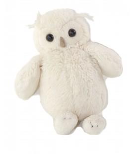 Doudou Peluche Hibou blanc Jellycat 19 cm