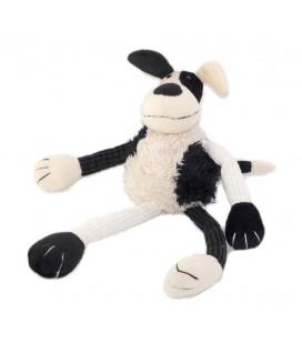 Doudou Peluche Chien blanc noir Jellycat 34 cm