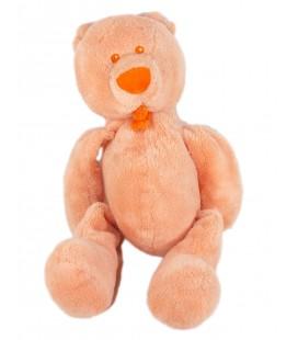 Doudou Ours orange PEEKO 26 cm