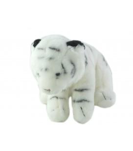 Peluche Doudou Tigre blanc Playkids 30 cm