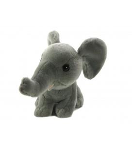 Peluche Doudou Elephant gris 18 cm MAX & SAX