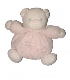Kaloo Doudou Peluche Ours Rose Perle - 18 cm