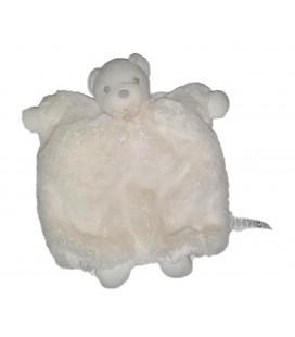 Kaloo Doudou Marionnette Ours blanc Crème Perle