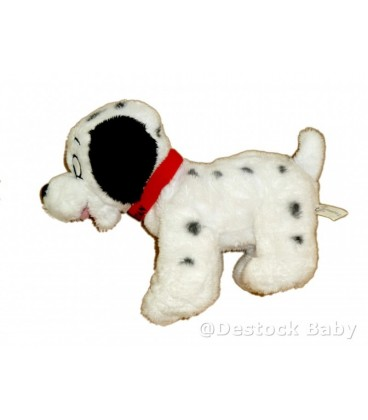 Peluche doudou Chien Les 101 Dalmatiens Disney Nicotoy H 20 cm
