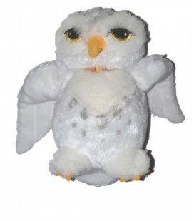 Peluche officielle Hedwig the How Hibou blanc HARRY POTTER Trudi 16 cm
