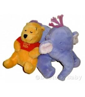 Peluche doudou Winnie dormeur Lumpy allongé 17 cm Disney Nicotoy 587/9033