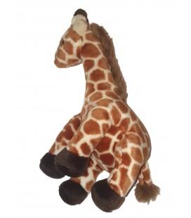 Peluche Girafe marron Nature Planet 32 cm