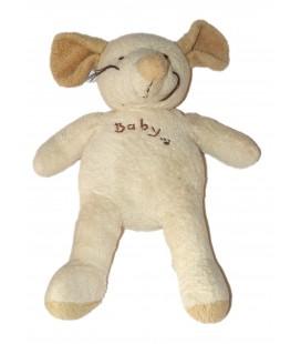 Peluche Souris beige Baby Maxita 40 cm
