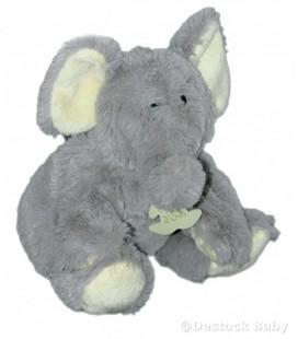 Histoire d'ours Marionnette Peluche Doudou Eléphant H 25 cm
