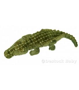 Peluche Crocodile Ikea 70 cm Etiquette tissu Klappar Krokodil