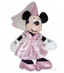 Peluche doudou MINNIE Fée Princesse H 50 cm Disneyland Paris