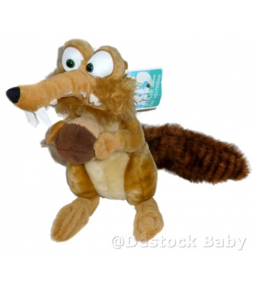 Peluche SCRAT Age de Glace 2 Ice Age 2 30 cm Play By play