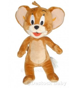 Peluche doudou JERRY de Tom et Jerry - Gipsy - 26 cm COPIE