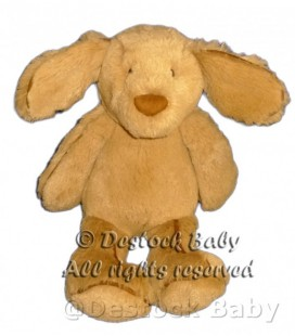 Doudou peluche CHIEN marron JELLYCaT Tan Brown Puppy Dog Comforter Soft Hug Toy 30 cm