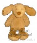 Doudou peluche CHIEN marron JELLYCaT Tan Brown Puppy Dog Comforter Soft Hug Toy 30 cm
