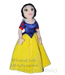 Doudou peluche BLANCHE NEIGE Disney Nicotoy H 35 cm