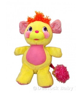 Peluche POPPLES Plush Jaune rose H 30 cm PILES INCLUSES