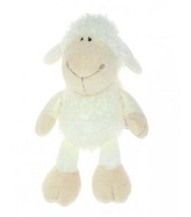 Peluche doudou Mouton agneau Blanc cassé écru NICI 40 cm