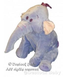 Doudou peluche LUMPY Efelant Elephant mauve 30 cm Disney Nicotoy